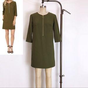 Trina Turk VERSED ZIP FRONT DRESS size 2